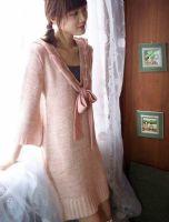 易购物商城 - WWW.E95.CN 毛球带帽针织毛衣HS6089(粉红) 缺货 布料/材质:晴纶 肩38/胸96/衣长75/袖长57……