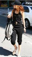 易购物商城 - WWW.E95.CN 吊带连裤装 200869(黑色) 缺货 布料/材质:涤棉 胸围90CM以内都能穿,腰围88CM裤长120CM……