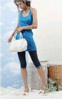 点击浏览商品大图 - 易购物商城 - WWW.E95.CN 七分打底裤K01(深蓝)