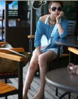 点击浏览商品大图 - 易购物商城 - WWW.E95.CN 短袖蝙蝠两件套 200873(深蓝)
